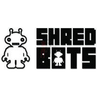 Shredbots Snowboard Decal Sticker