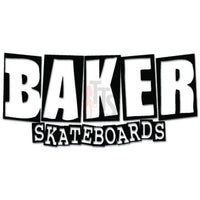 Baker Skateboards Decal Sticker