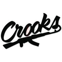 Crooks and Castles Decal Sticker Style 1