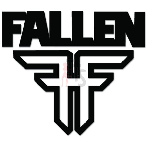 Fallen Footwear Decal Sticker Style 2