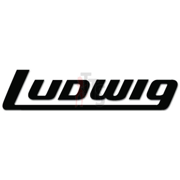 Ludwig Logo Decal Sticker