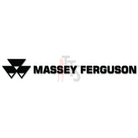 Massey Ferguson Decal Sticker Style 2
