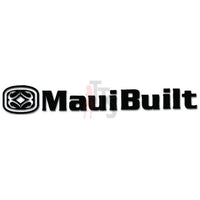 Maui Built Logo Decal Sticker Style 3
