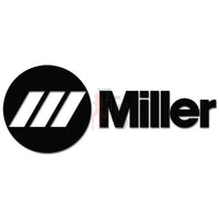 Miller Welder Logo Decal Sticker Style 1