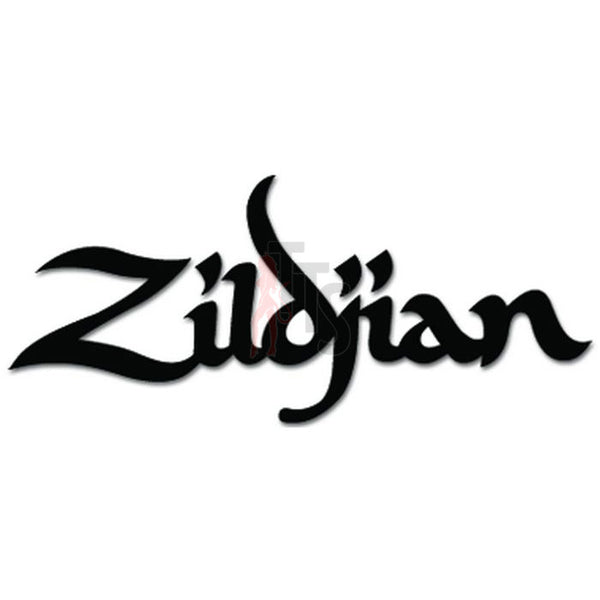 Zildjian Cymbals Decal Sticker