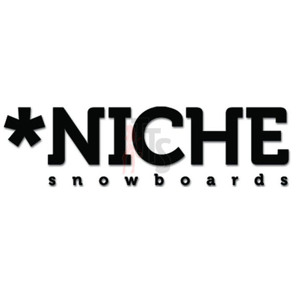 Niche Snowboards Decal Sticker Style 1