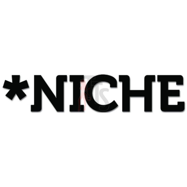 Niche Snowboards Decal Sticker Style 2