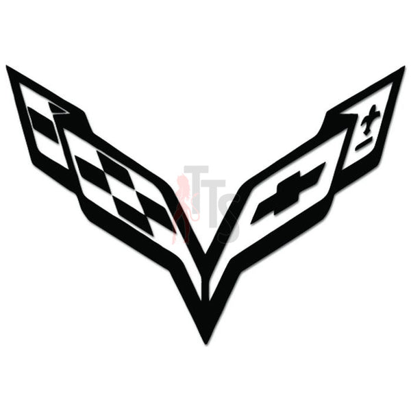 Corvette Decal Sticker