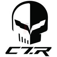 Corvette C7-R Decal Sticker Style 2