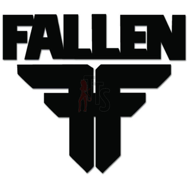 Fallen Footwear Decal Sticker Style 1