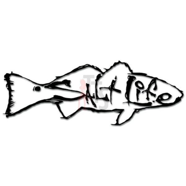 Salt Life Fish Fishing Decal Sticker