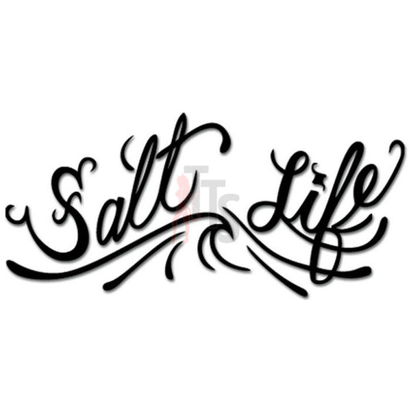 Salt Life Wave Ocean Decal Sticker