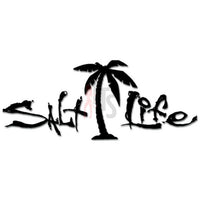 Salt Life Palm Tree Decal Sticker