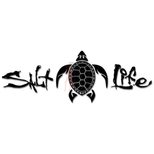 Salt Life Sea Turtle Decal Sticker