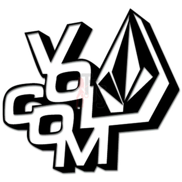 Volcom Diamond Decal Sticker