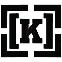 K Skateboard Decal Sticker