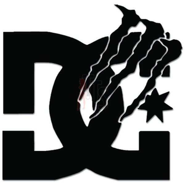 Monster DC Shoes Decal Sticker