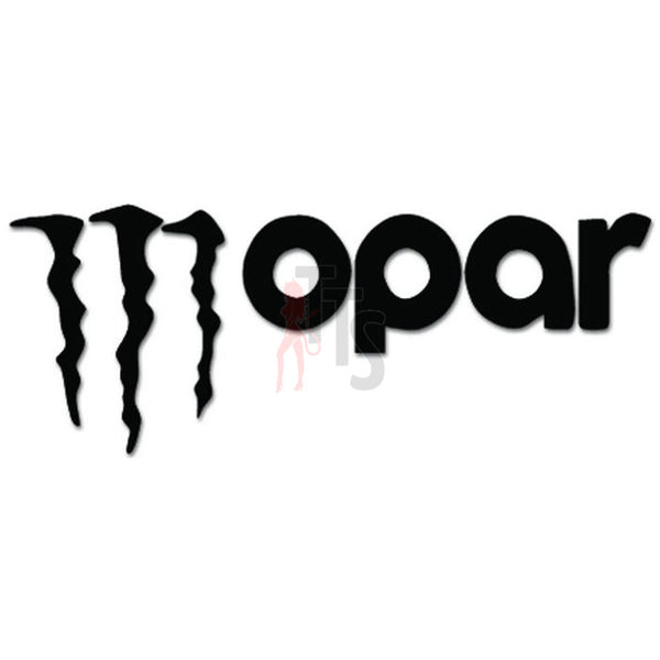 Mopar Monster Decal Sticker