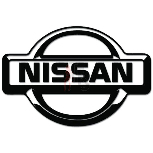 Nissan Badge Decal Sticker
