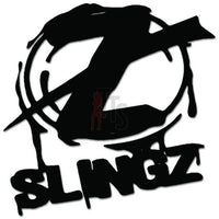 Slingz Shoelaces Decal Sticker