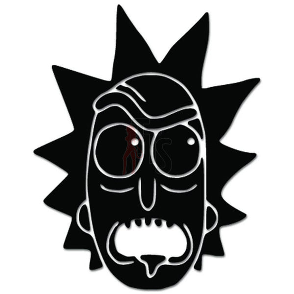 Rick Morty Rick Head Decal Sticker
