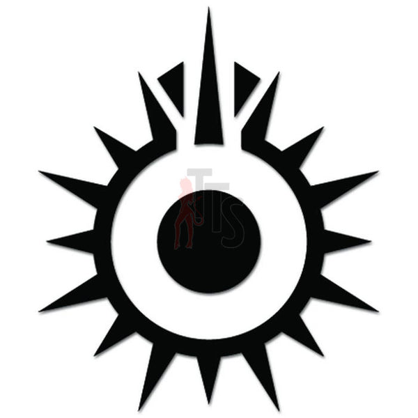 Star Wars Black Sun Decal Sticker