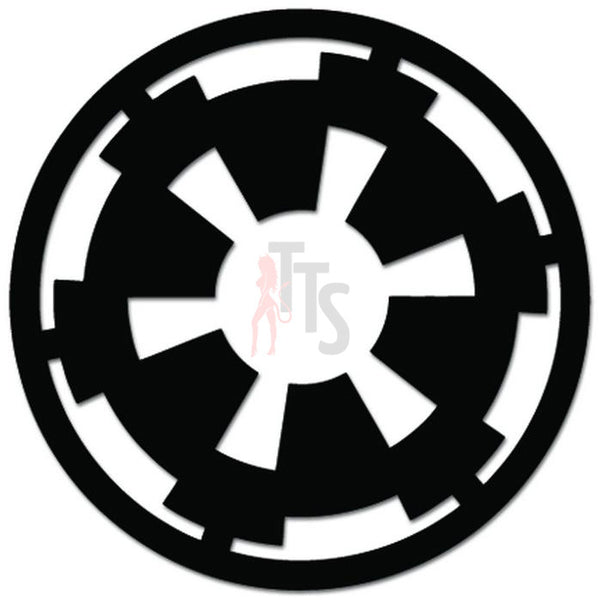 Star Wars Imperial Insignia Decal Sticker