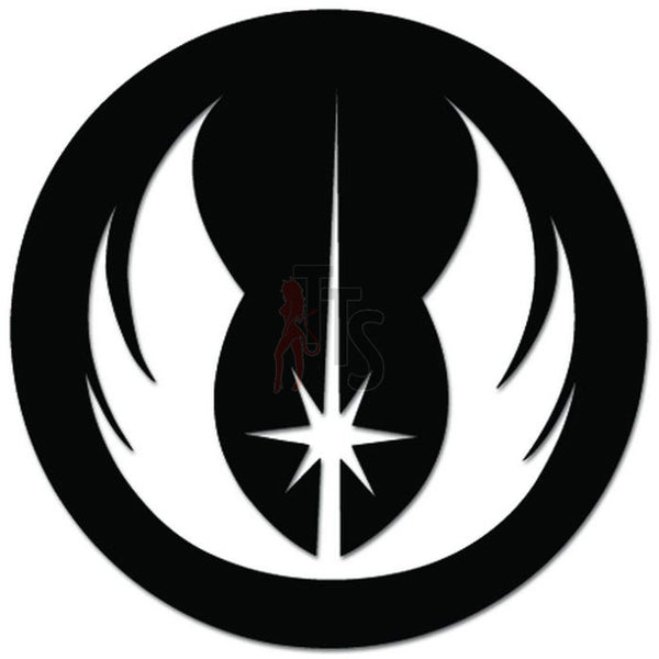 Star Wars Jedi Order Insignia Decal Sticker
