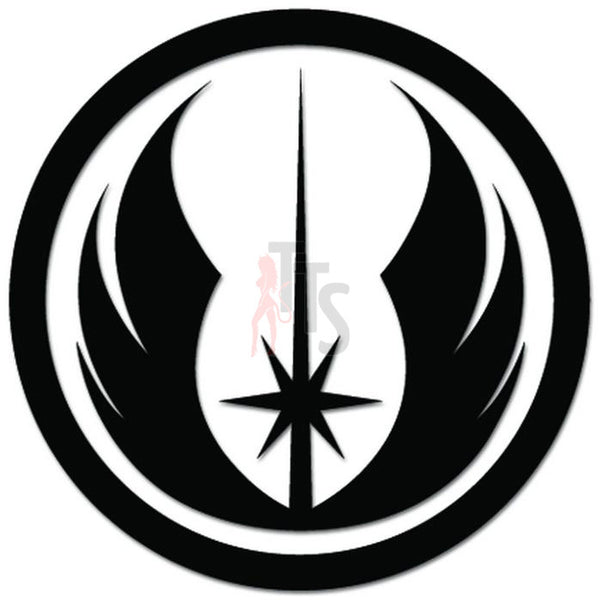 Star Wars New Jedi Order Decal Sticker