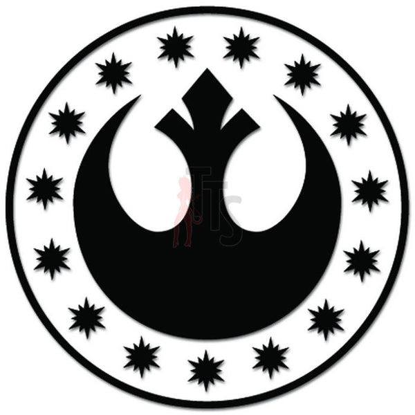Star Wars New Republic Decal Sticker