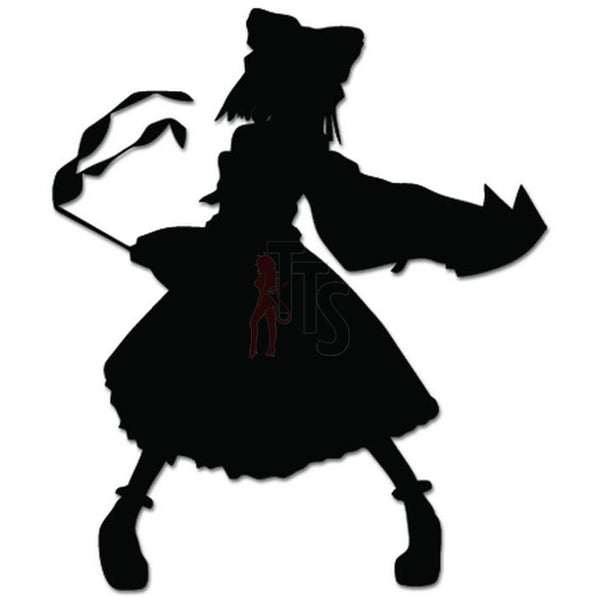 Touhou Reimu Decal Sticker