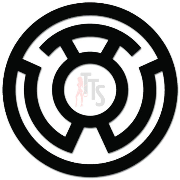 Yellow Lantern Corps Sinestro Fear Emblem Decal Sticker