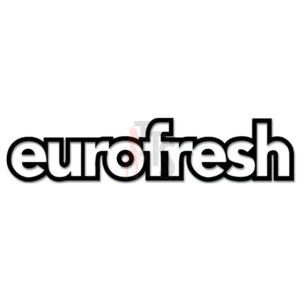Euro Eurofresh Decal Sticker Style 1