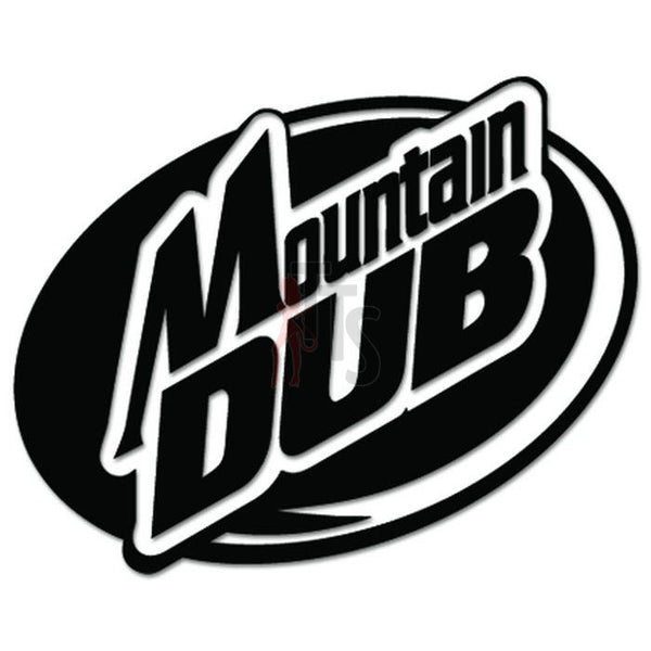 Euro Mountain DUB Decal Sticker