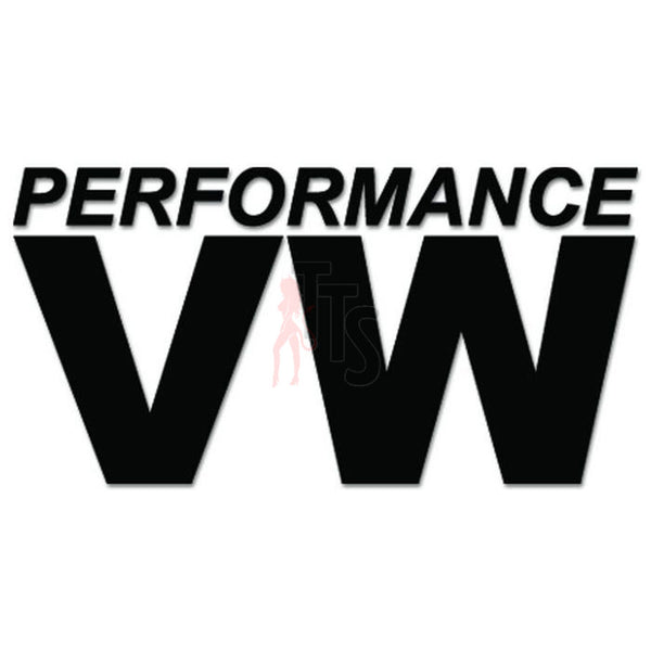 Euro Performance VW Volkswagen Decal Sticker