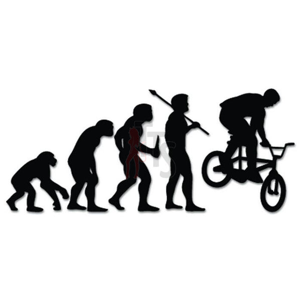 BMX Bicycle Sports Evolution Decal Sticker