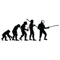 Epee Fencing Sports Evolution Decal Sticker