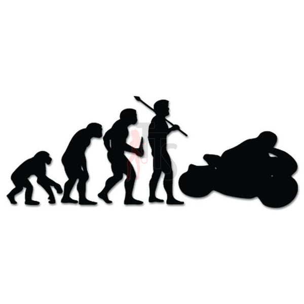 Motorcycle Racing Evolution Decal Sticker