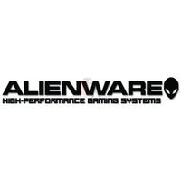 Alienware Dell Online Gaming Video Game Decal Sticker Style 2