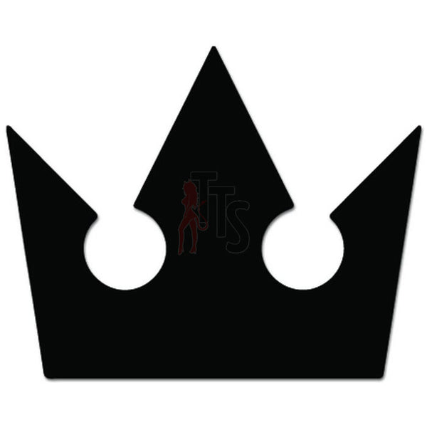 Kingdom Hearts Crown Online Gaming Video Game Decal Sticker