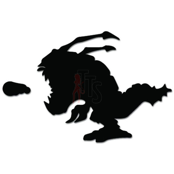 League Of Legends Kogmaw Online Gaming Video Game Decal Sticker