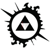 Legend Zelda Triforce Online Gaming Video Game Decal Sticker