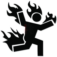 Man On Fire Online Gaming Video Game Decal Sticker