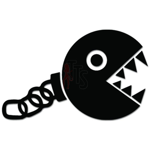 Mario Bros Chomp Online Gaming Video Game Decal Sticker