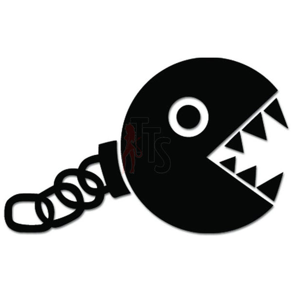 Mario Bros Chainchomp Online Gaming Video Game Decal Sticker