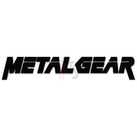 Metal Gear Solid Online Gaming Video Game Decal Sticker Sticker Style 1