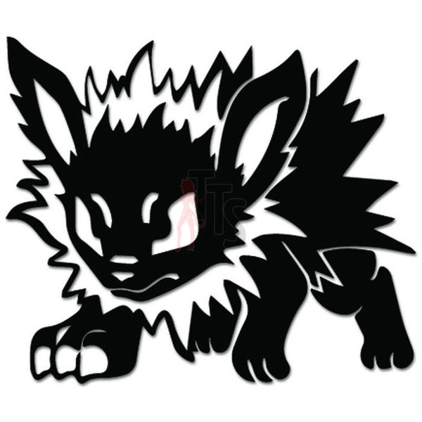 Pokemon Inspired Jolteon Online Gaming Video Game Decal Sticker