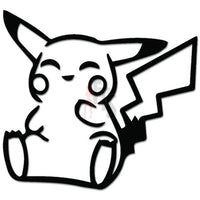 Pokemon Inspired Pikachu Online Gaming Video Game Decal Sticker Sticker Style 1