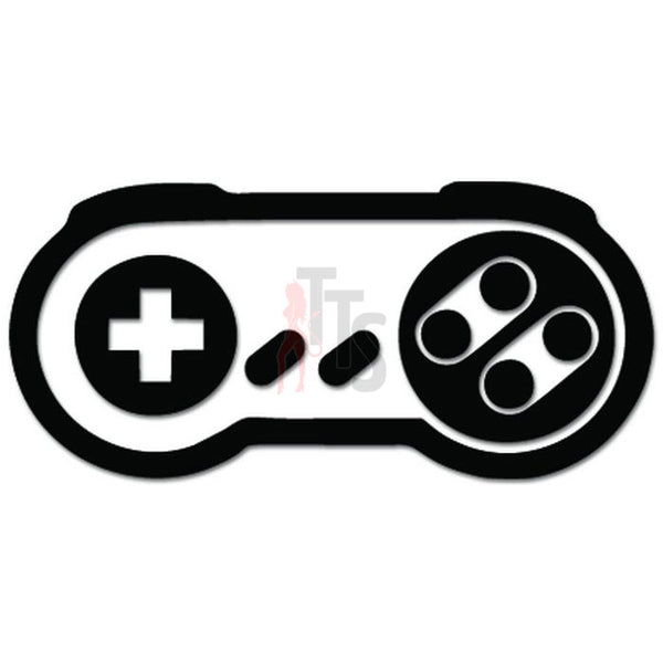 SNES Nintendo Controller Online Gaming Video Game Decal Sticker