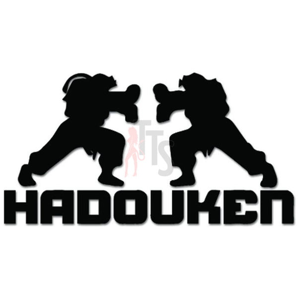 Street Fighter Hadouken Ken Ryu Fighting Online Gaming Video Game Decal Sticker Sticker Style 2
